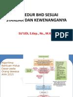 BHD sesuai standar dan kewenanganya