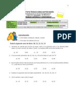 Guia 4 Varianza Desviacion Standar Coeficiente de Variación - Desviación Media