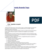 Retiro Aprenda Ananda Yoga