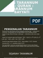 Asas tarannum al- quran (taranum bayati).pptx