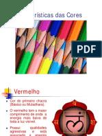Lista de cores e funções relativas