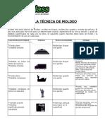 Caucho de Siliconas - Tecnicas de Moldeo