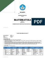 Silabus Matematika Kelas 5 Sem 2