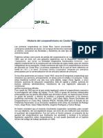 historia cooperativismo CR