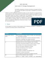 SOP-001166 (Software und IT Change Management)