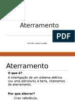 Unidade I - Aterramento e SPDA.pptx