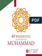 40 Weisheiten des Propheten Muhammad - Broschüre.pdf