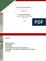 lecture 4 business economics