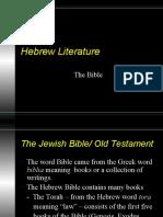 HebrewLiteraturePowerpoint