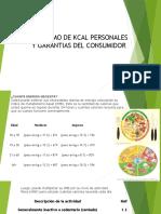 Kcal individual y garantias