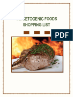 Ketogenic_Foods Cheatsheet