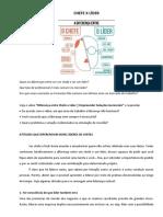 CHEFE X LÍDER + pronomes possessivos