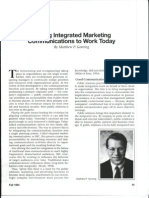Integrated Marketing Commnications