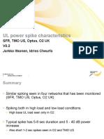 Spike characteristics