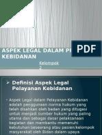 PPT ASPEK LEGAL