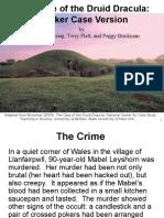 Druid Dracula PPT Case Study.ppt