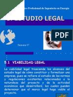 5. Estudio Legal y Organizacional
