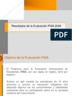Resultados PISA2009