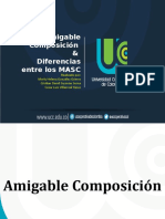 Amigable Composicion & Diferencias MASC