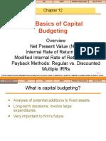 kuliah 10 The Basic of Capital Budgeting