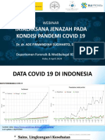 2020 Tatalaksana Jenazah pada Kondisi Pandemi Covid - Ade