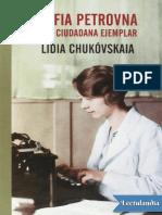 Sofia Petrovna - Lidia Chukovskaia