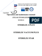 Reverberi Sterilix 2 - Service manual