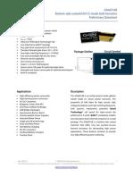 Datasheet of GS66516B