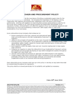 Supply Chain and Procurement Policy Version 1l