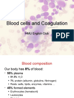 Blood cells and Coagulation
