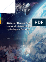 Status of Human Resources in National Meteorological and Hydrological Services