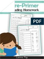 Sight Words reading 1