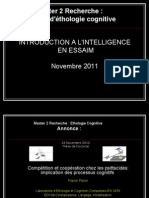 Introduction a l'Intelligence en Essaim (Slides)