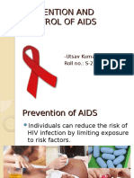 Prevention and Control of Aids