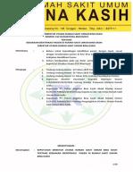 SK Kebijakan Identifikasi Pasien