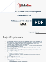 GlobalNow Application Development Project - Collections System