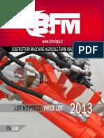 Catalogo BFM