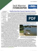 BWRk Newsletter Secondhalf 2010