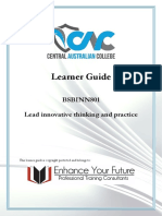 CAC Learner Guide