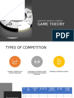 Game Theory - Continuous strategies
