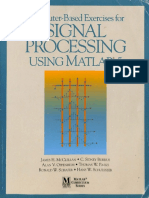[MATLAB curriculum series.] James H. McClellan, C. Sidney Burrus, Alan V. Oppenheim, Thomas W. Parks, Ronald W. Schafer, Hans W. Schuessler - Computer-Based Exercises for Signal Processing Using MATLAB 5 (1998, Pren.pdf
