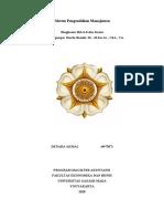 Sistem Pengendalian Manajemen Bab 6,7,8