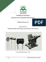 FICHA 4 - TRANSDUTORES ELÉCTRICOS DE POSIÇÃO CAPACITIVOS