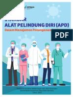 Standar APD Dalam Manajemen Penanganan COVID-19