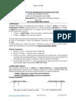 Ficha n º 04 - Custos de Emprestimos Obtidos. Estudante