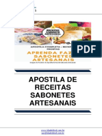Apostila de Receita Sabonetes Artesanais