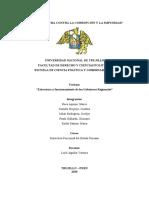 Estructura y funcionamiento de los Gobiernos Regionales