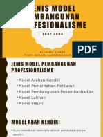 JENIS MODEL PEMBANGUNAN PROFESIONALISME.pptx