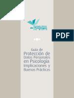 Guía de Protección de Datos Personales en Psicología - Implicaciones y Buenas Prácticas