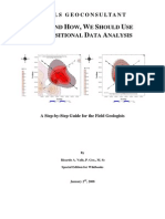 Geochemistry Data Analisis